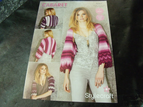 Stylecraft Double Knitting Pattern 9301 Two Designs