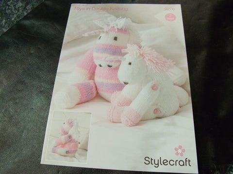 Stylecraft Toys in Double Knitting Pattern 9276