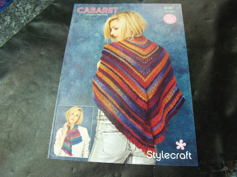 Stylecraft Double Knitting Pattern 9187 Two Crochet Designs