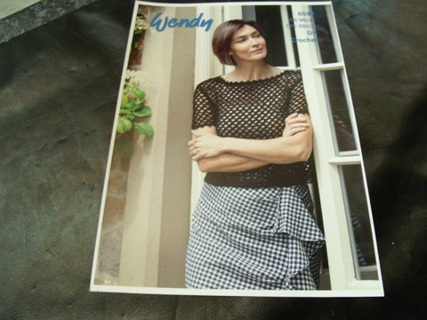 Wendy Double Knit Crochet pattern 6039