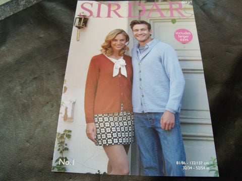 Sirdar Double Knitting Pattern 8043
