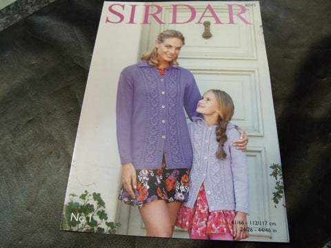 Sirdar Double Knitting Pattern 8045