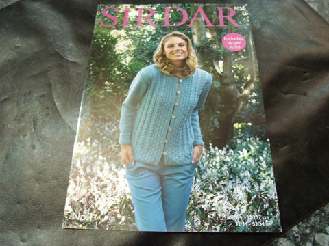 Sirdar Double Knitting Pattern 8052