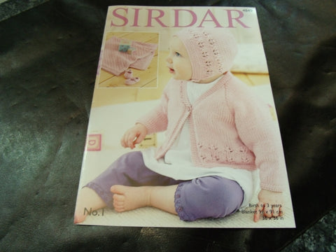 Sirdar Double Knitting Pattern 4849