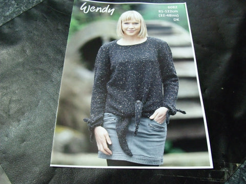 Wendy Double Knit Pattern 6082 Sweater