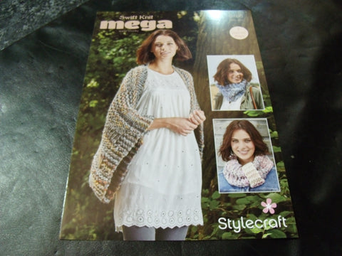 Stylecraft Swift Knit Mega Super Chunky Pattern 9466