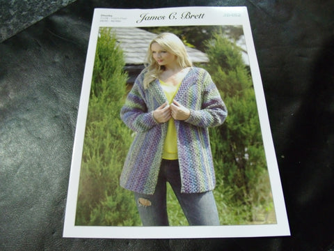 James C Brett Chunky Knitting Pattern JB462