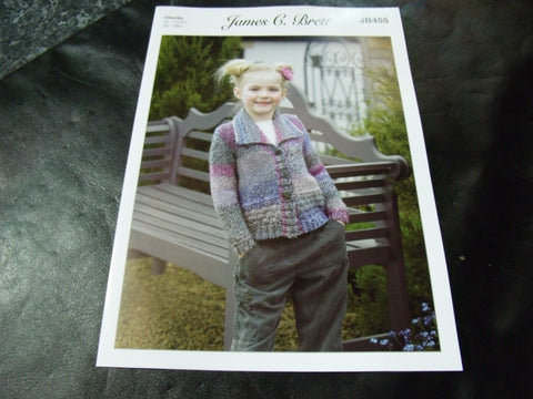 James C Brett Chunky Knitting Pattern JB455