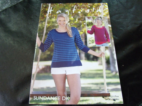Hayfield Sundance Double Knitting Pattern 8144