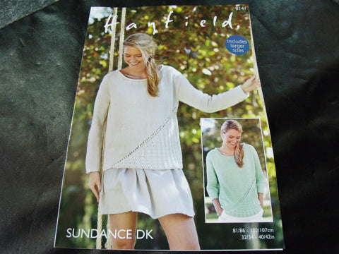 Hayfield Sundance Double Knitting Pattern 8141