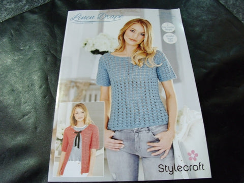 Stylecraft Double Knitting Crochet Pattern 9514 Two Easy Crochet Designs