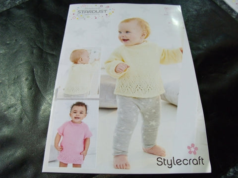 Stylecraft Wondersoft Double Knitting Pattern 9524 2 Designs