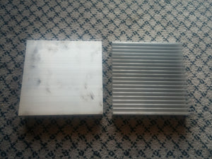 200x200x40mm Aluminium Heatsink for 3W LEDs