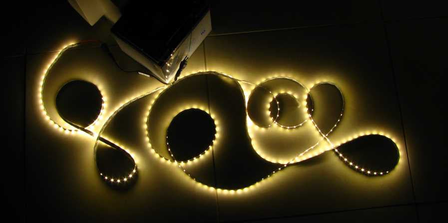 5 metres Natural White LED strip (5630, 12V input, 60 LEDs/m, non-waterproof)