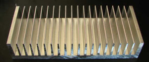 80x200x40mm Aluminium Heatsink for 3W LEDs