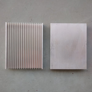 250x200x40mm Aluminium Heatsink