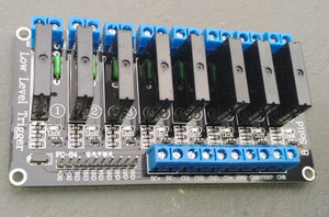 Solid State Relay - 8 Channel - (For Load Shedding)