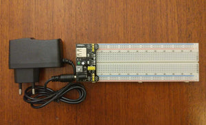 Breadboard and MB-102 Power Supply
