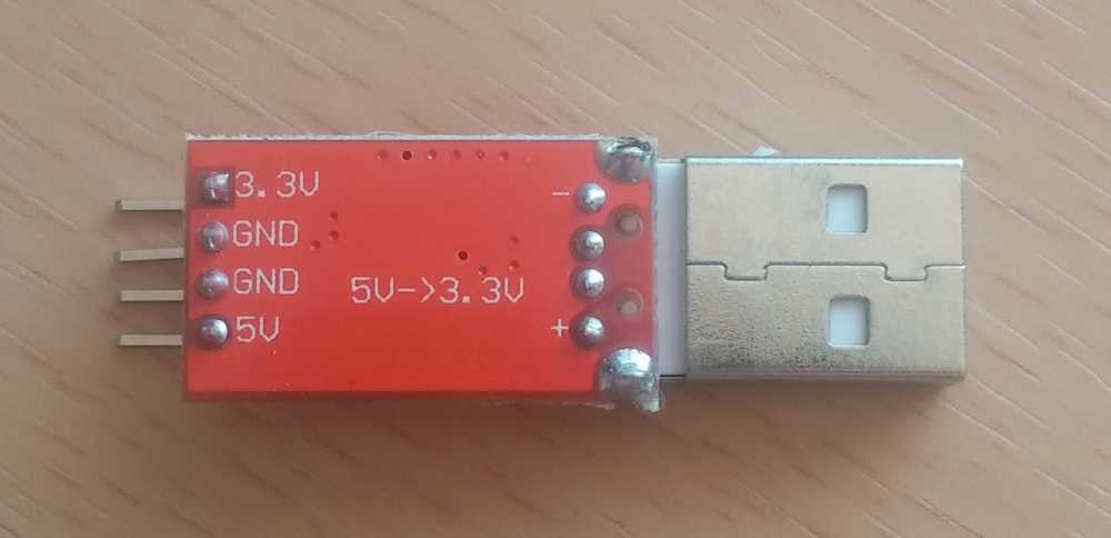 USB DC/DC 5V to 3.3V Voltage regulator