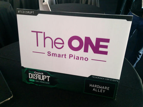 the-one-smart-piano-techcrunch-disrupt-booth