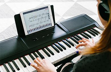 The ONE Smart Piano | A piano that teaches you to play