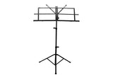 Aluminum Metal Sheet Music Stand with Carrying Bag