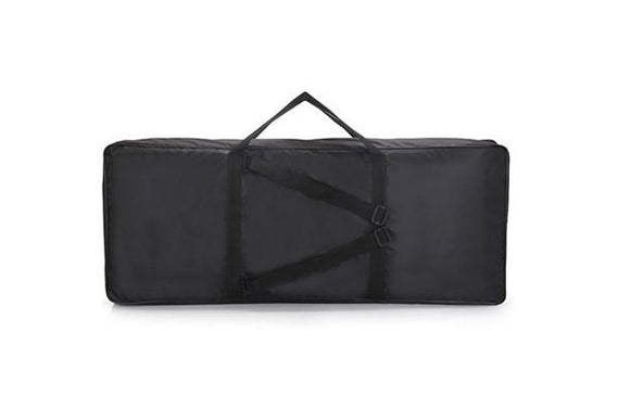 The ONE Smart Piano Digital Keyboard Bag for 61 keys Piano Black Color Nylon Waterproof Electronic Organ Cover