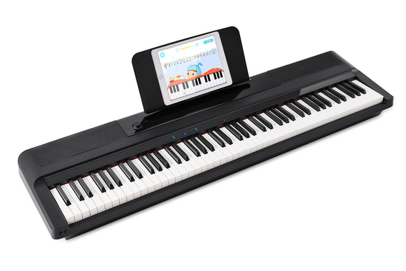 The ONE Smart Keyboard Pro Essential, ABS Materiel, 88-Key Portable Digital Piano Keyboard, Weighted Hammer Action Keys