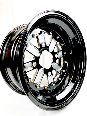 OG wheel sets - Gloss Black by Ultra Light Wheel Package W/FREE LUG NUTS