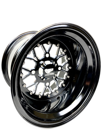 *Wishbone - Gloss Black by Ultra Light W/FREE LUG NUTS