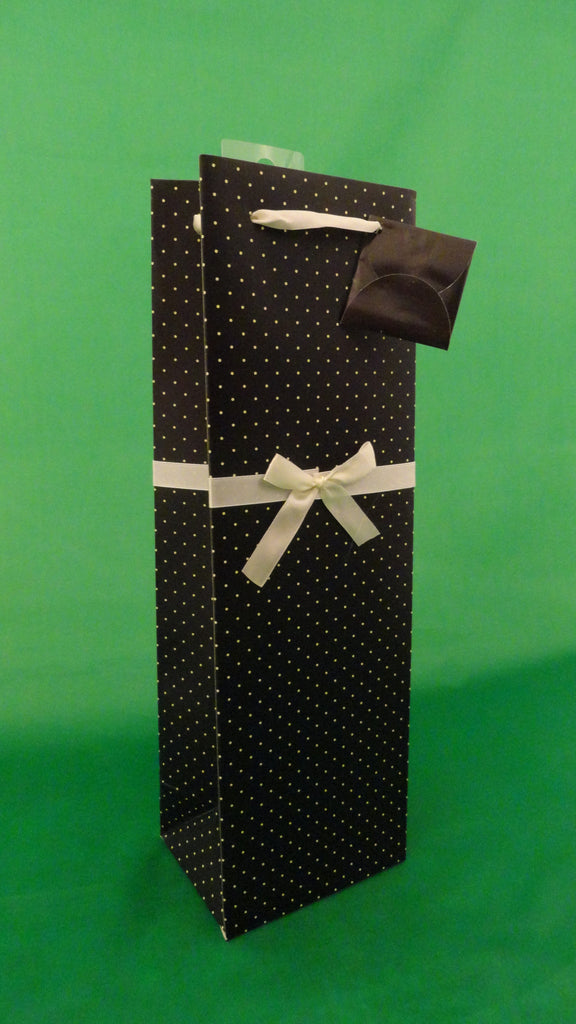 Elegant 1 bottle gift bag