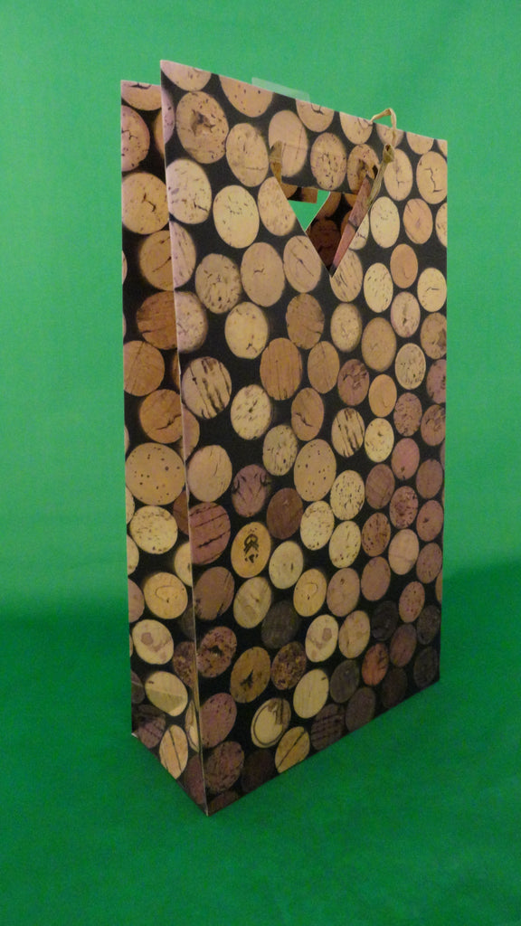 Corks 2 bottle bag