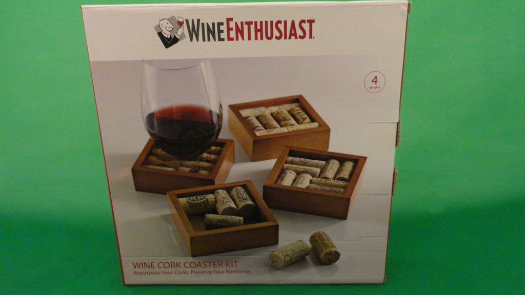 Wine cork coaster kit