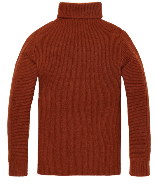 Scotch & Soda chunky roll over sweater