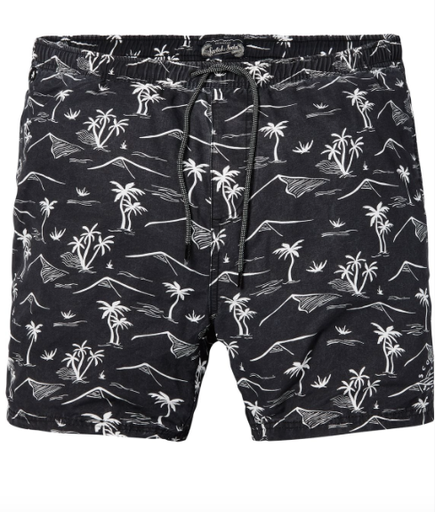 Scotch & Soda swim short , blk/wht, XL