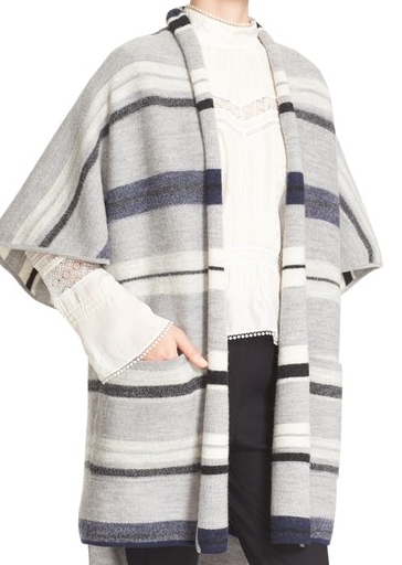 10 Crosby short sleeve blanket cardigan