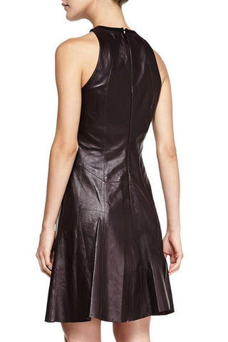 10 Crosby leather peplum