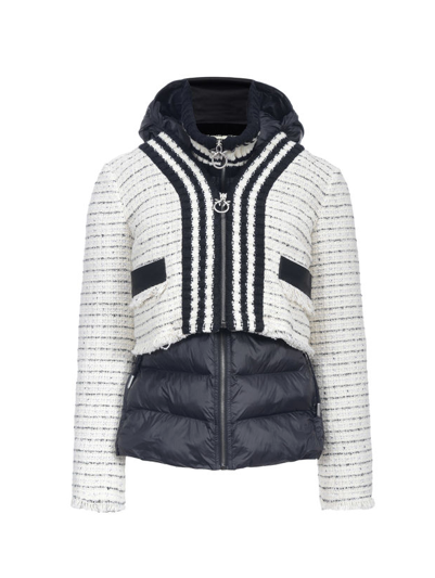 Pinko padded combo jacket