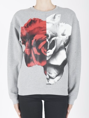 McQ Womens Collage Sweatshirt
