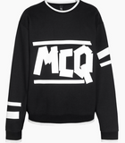 MCQ mens oversized sweatshirt