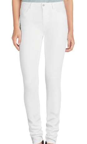 "Jbrand womens bardot high 12"" pencil in blanc"