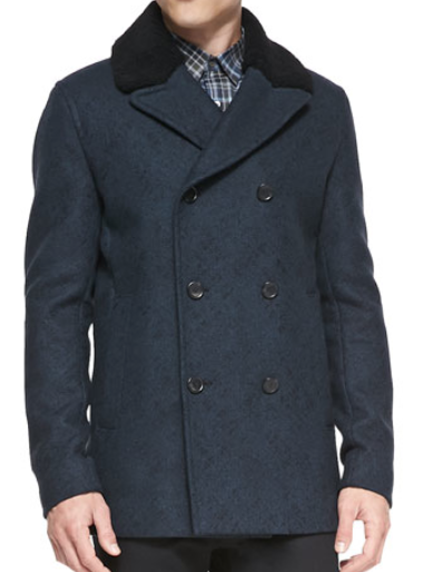 Theory Cashmere Dbl breasted Jacket