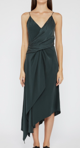 Acler lucas silk dress