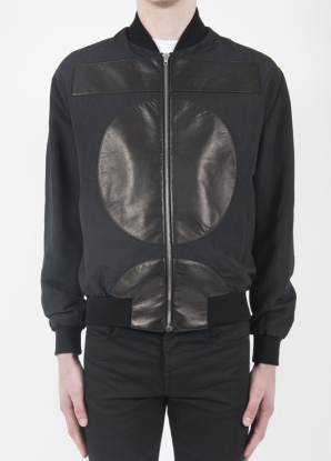 McQ mens mix bomber