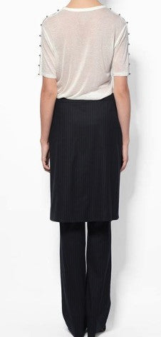 10 Crosby wrap skirt trouser