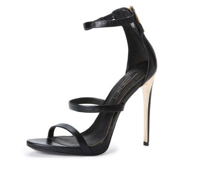 Rachel Zoe viv cracked metal heel