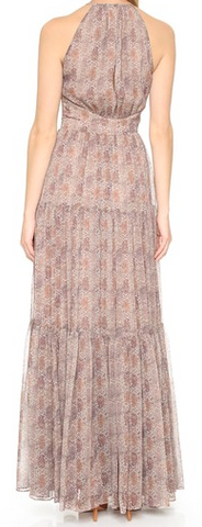 L'Agence penelope tiered dress