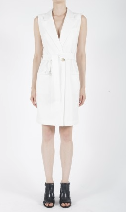 MCQ womens tailored wrap dress