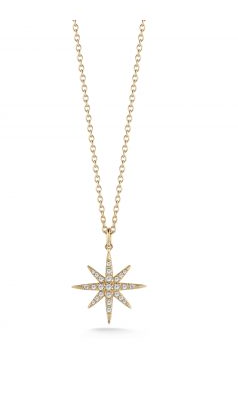 Elizabeth & James compass rose pendant