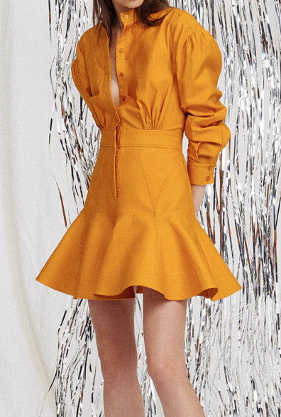 Acler lewis shirt dress